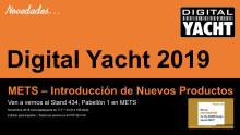 Digital Yacht estará en METS con grandes novedades