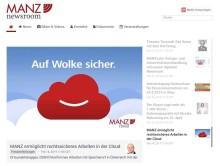 MANZ'sche Verlags- und Universitätsbuchhandlung mit neuem digitalen Newsroom