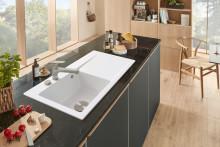 Allrounder für die zeitlose Küche:  Neue Küchenarmatur Junis vereint Design und Funktionalität