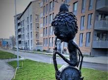 """Pressvisning av """"Tidsresenären"""" av Joakim Ojanen på Öster Mälarstrand"""