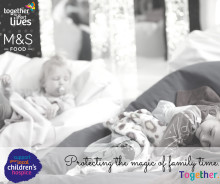 This is not just any charity partnership… M&S Food & Together for Short Lives come together to support and raise vital funds for lifeline children's hospices like ellenor.