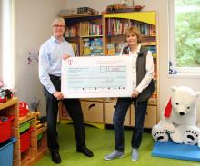 Mitarbeiter der Deutschen Telekom/Niederlassung Ost spenden zum 4. Mal an das Kinderhospiz Bärenherz Leipzig