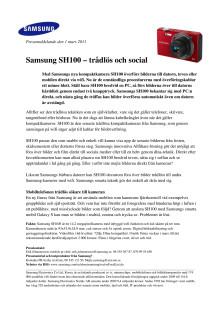 Samsung SH100 – trådlös och social