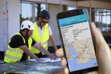 Effektivare bygglogistik när Beijers kunder kan följa sina leveranser i realtid