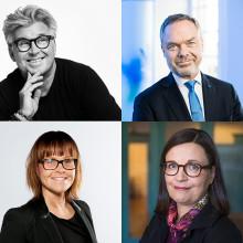 Anna Ekström och Jan Björklund möts och samtalar om utbildningens vikt i samhället vid 120-årsjubileet av Sveriges äldsta utbildningsföretag