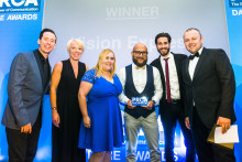 Eye-catching Vision Van scores third award win of the year