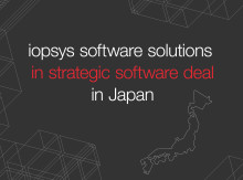 iopsys software solutions in strategic software deal in Japan