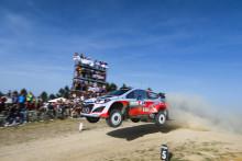 Stiller med tre biler i Rally Polen