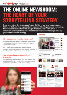 The online newsroom: the heart of your storytelling strategy