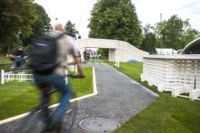 Oplev Aarhus Festuge på cykel og til fods/Arkitema designer sammen med Aarhus Festuge årets bypark