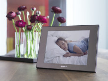 Let everyone enjoy the big picture: Add a splash of colour to your home with super-size new digital photo frames by Sony