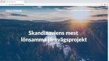 Ny digital närvaro för Oslo-Sthlm 2.55