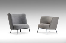 An armchair with several possibilities by Daniel Debiasi & Federico Sandri for Offecct.