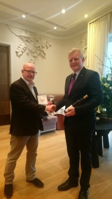 ​Brännland 2016 Iscider served as bespoke wine pairing at Coworth Park, Dorchester Collection