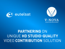 Eutelsat and V-Nova partner on unique HD studio-quality video contribution solution