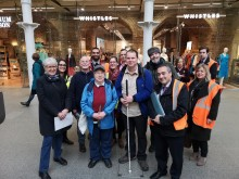 GTR hosts St Pancras station tours for passengers with accessibility needs