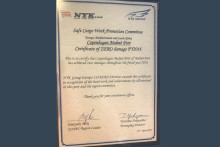 CMP has received a distinction from the NYK Group