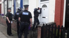 Six arrested in second day of raids targeting city centre drug dealing