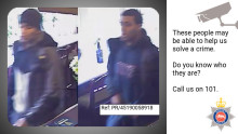 UPDATE: Can you help us identify these two men in connection with attempted knifepoint robbery in Epsom?