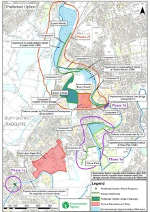 Construction on flagship flood scheme to protect Radcliffe and Redvales set to commence