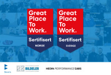 Hedin Automotive er igjen sertifisert som en Great Place to Work-bedrift