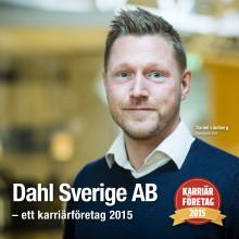 Dahl Sverige AB, ett av Sveriges bästa företag att jobba på!