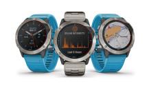 Quatix 6X Solar: la nouvelle montre marine connectée de Garmin avec chargement solaire