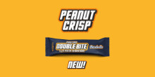 Crispy Peanut vibes ahead – Barebells Double Bite i ny smak