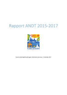 Levnadsvaneundersökning Karlshamns kommun 2017