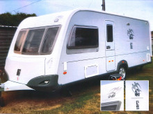 Appeal to find distinctive stolen caravan