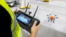Ford tar i bruk droner til fabrikkvedlikehold