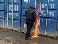 Four arrests after County Lines raid at container yard