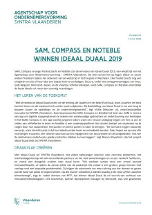 SAM, Compass en Noteble winnen Ideaal Duaal 2019
