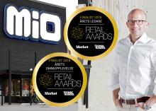 Dubbla finalplatser för Mio i Retail Awards 2018