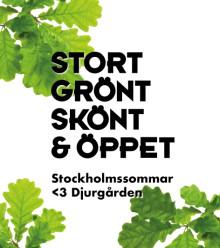 Nu öppnar Djurgården upp med kampanjen Stockholmssommar <3 Djurgården
