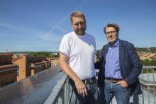 Solcellsenergi får Högskolans elräkning till 0