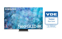 Samsungs 2021 Neo QLED-TV modtager branchens første 'Eye Care' certificering