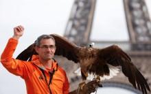 Париж с высоты птичьего полёта с камерой Sony Action Cam Mini