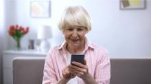 SMS blomstrade på alla hjärtans dag och mest bland seniorerna