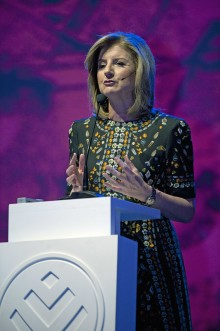 Digital revolution creating burnout – Arianna Huffington