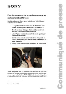 Communication de presse_CES 2015_Walkman ZX2_F-CH_150106