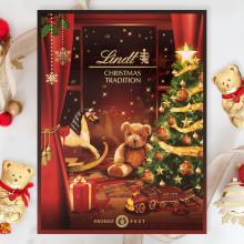 Unna er en njutbar och magisk stund varje dag ända fram till jul med Lindt Christmas Tradition