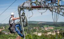 Baubeginn für Hochspannungsleitung von Rottersdorf nach Sand