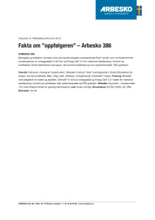 Vedlegg ARBESKO 386