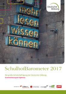 SchulhofBarometer 2017: Die Ergebnisse.