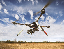 Cutting-edge drones put to the temperature test