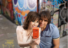 Share life's moments online with web-ready Mobile HD Snap Camera from Sony: New MHS-PM1 Camera provides quick photo and video uploads to the web