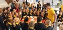 TCS België demonstreert goIT tijdens Dag van de Wetenschap