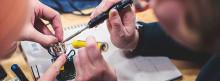 Mad Maxed Makerspace  - laga elektronik på Göteborgs filmfestival