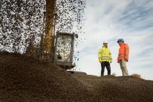 Leca Norge AS og GLAVA med sirkulært samarbeid: Bi-produkter fra glassull får nytt liv i LECA lettklinker